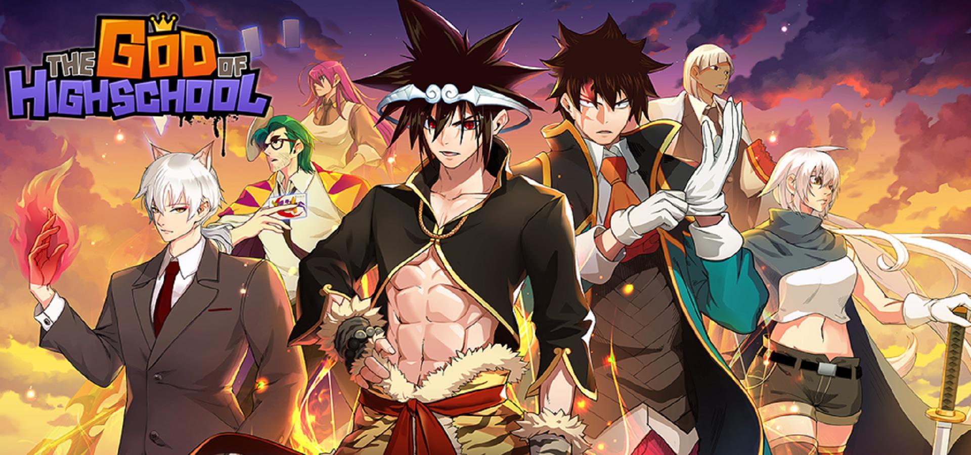 Le manga God Of HighSchool aura une adaptation anime
