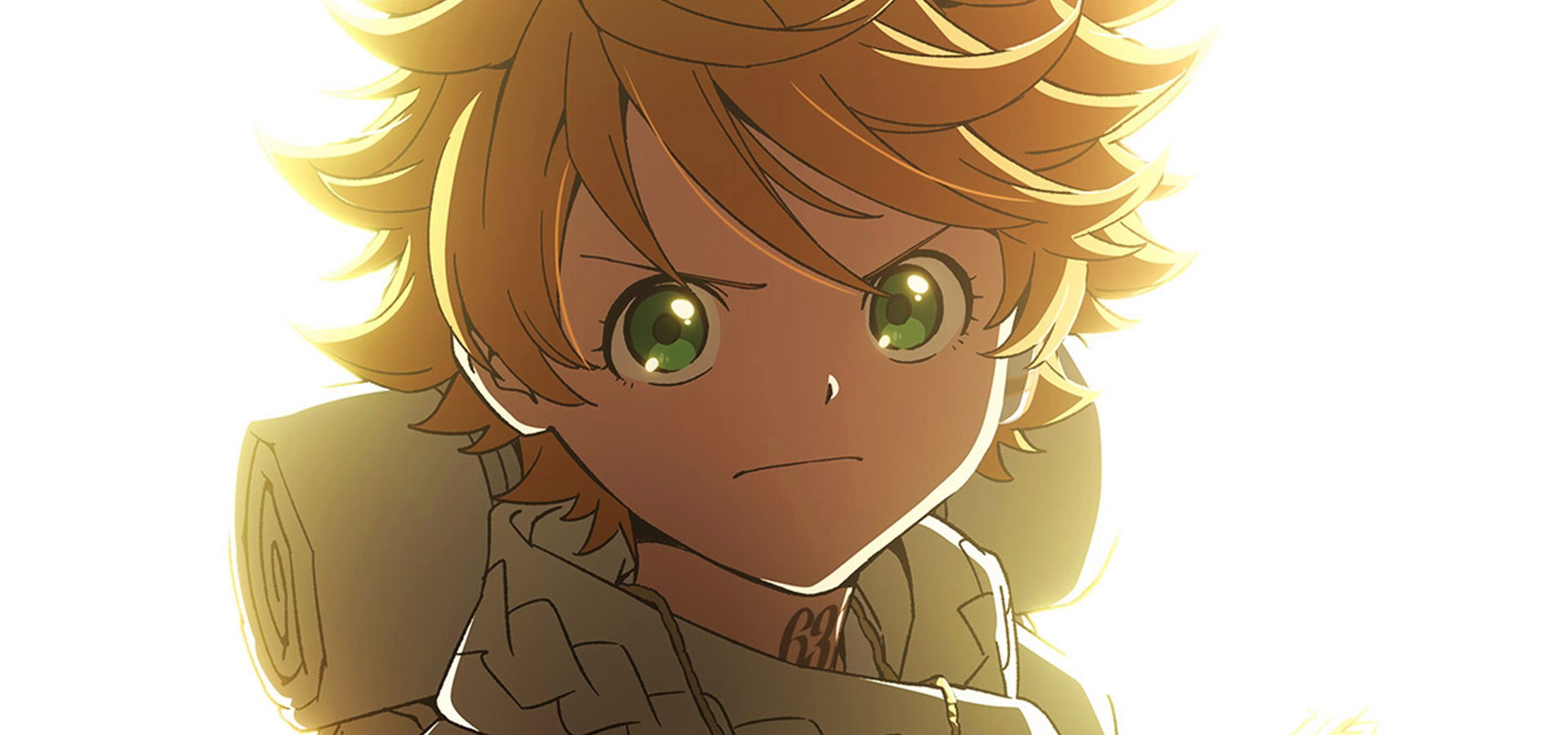 L'affiche de la saison 2 de l'anime The Promised Neverland