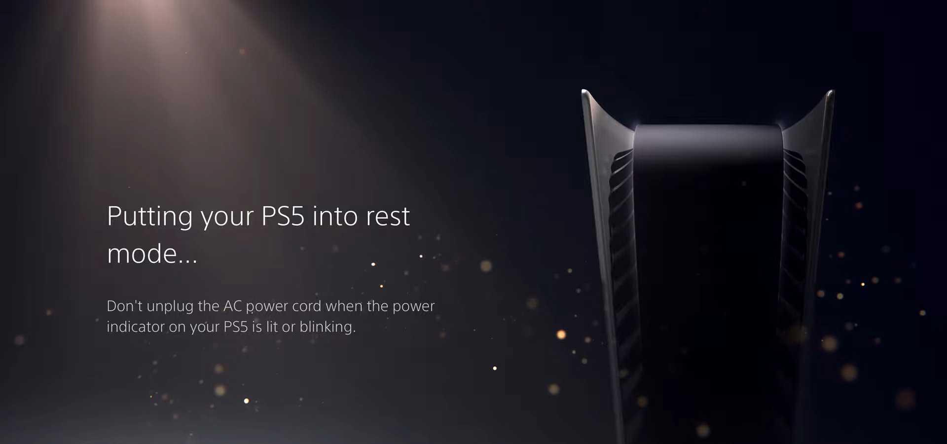 Présentation de l'interface de PlayStation 5