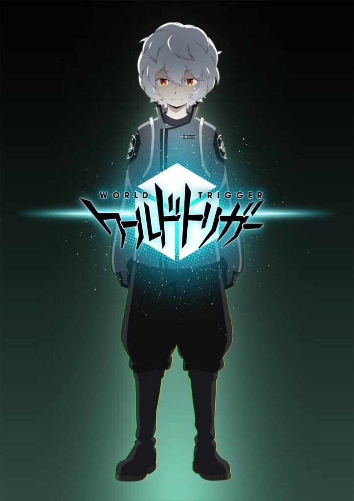 Une affiche de World Trigger saison 2