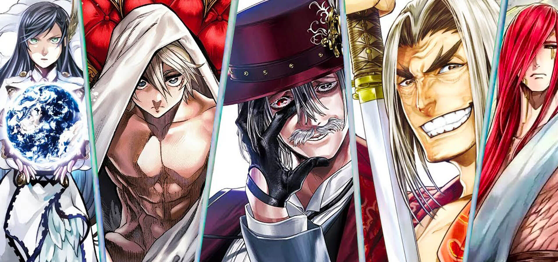 Teaser de l'anime Shuumatsu no Valkyrie: Record of Ragnarok